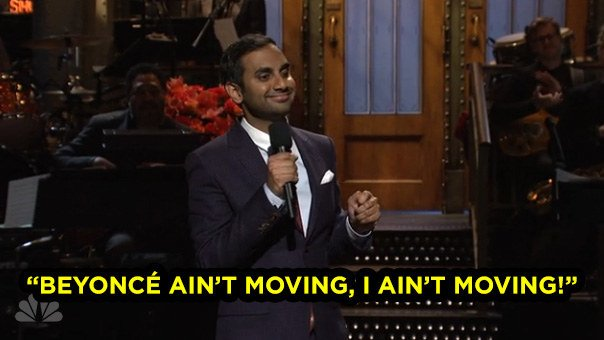 You Have To See How Aziz Ansari Tackled Trump In His SNL Debut https://t.co/NyRWuYQF7E