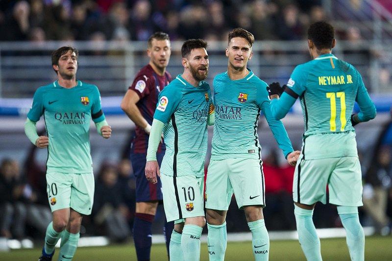 🇪🇸試合結果🇪🇸 MSN揃い踏み、バルサがエイバルを4発粉砕…乾は先発出場も無得点 https://t.co/DQnCjWUMFp リーガ・エスパニョーラ第19節で #エイバル と #バルセロナ が対戦しました。 #サッカーキング
