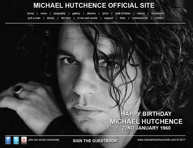 Happy birthday Michael Hutchence would have been 57 today