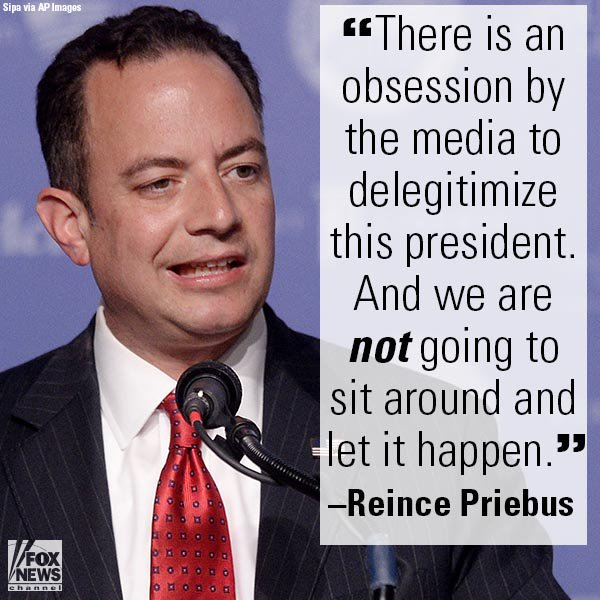 Media 'Obsession': @Reince, @FoxNewsSunday's Wallace Spar Over @realDonaldTrump Spox @seanspicer' News Conference https://t.co/dXaNm8y9KV
