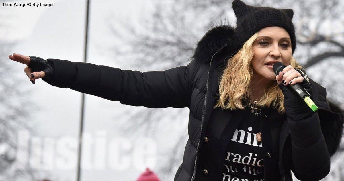 Madonna defends 'blowing up the White House' comment: 'I am not a violent person.' https://t.co/duRIn85TuA