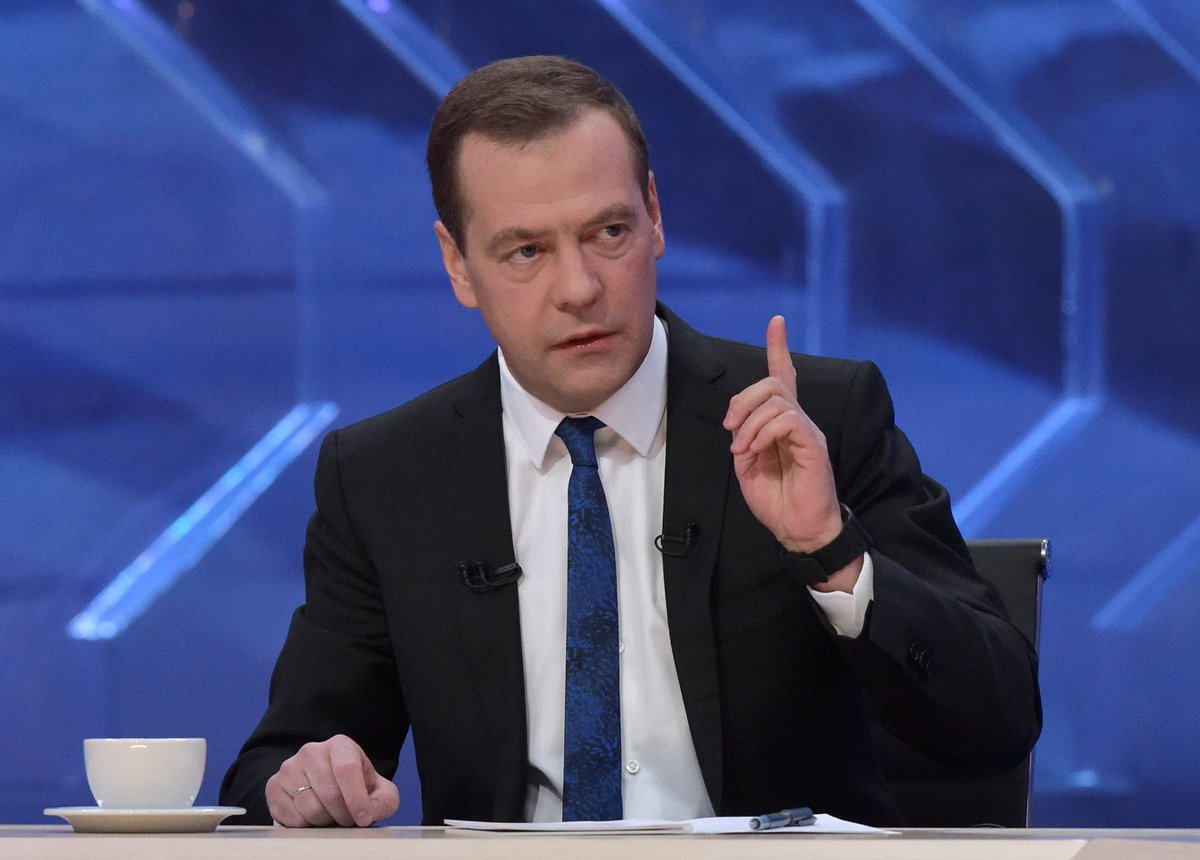 Dimitri Medvedev : 'Il est temps de balayer l'illusion de la levée arrivante des sanctions anti-russes' https://t.co/4woaqTc9qM