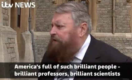 An ITV journalist interviewed Brian Blessed about Trump and it went exactly as you'd expect