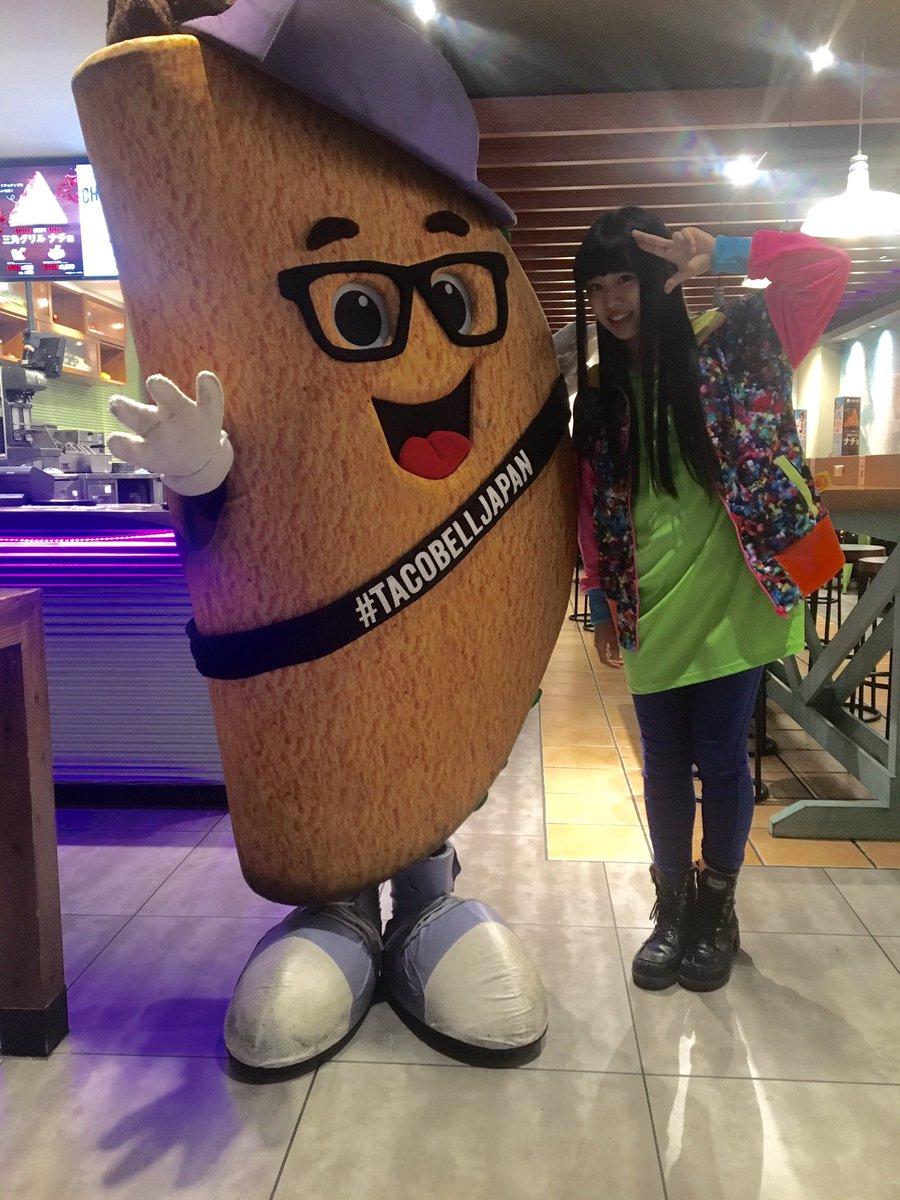 映画『咲-Saki-』でタコス大好き少女・片岡優希役を演じる廣田あいか、本日Taco Bell渋谷道玄坂店に行ってきまし