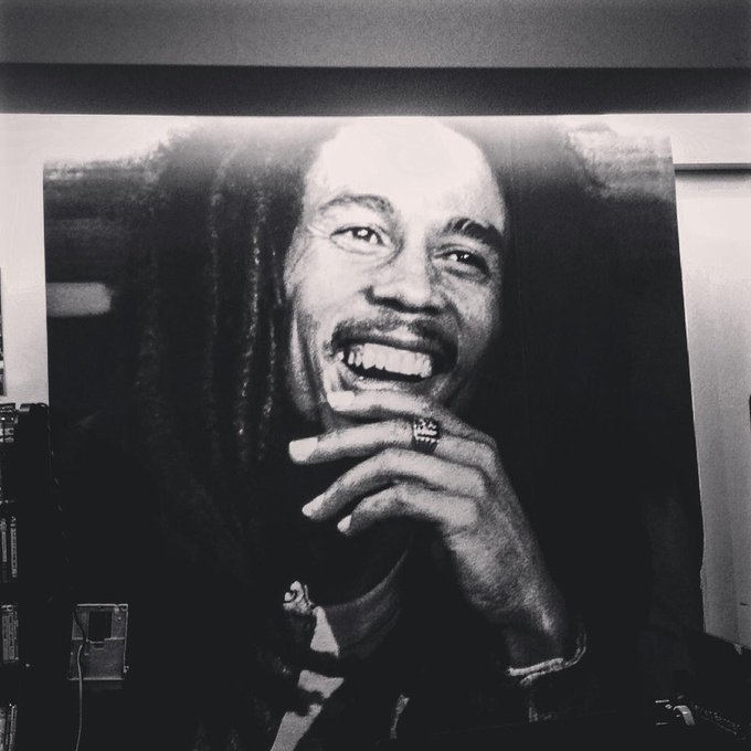 Happy Birthday to Bob marley.  Nuff respect.