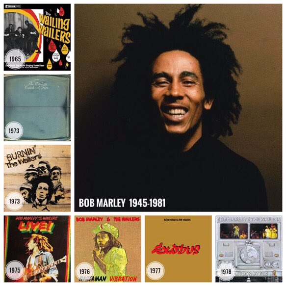 Happy 72nd birthday Bob Marley
