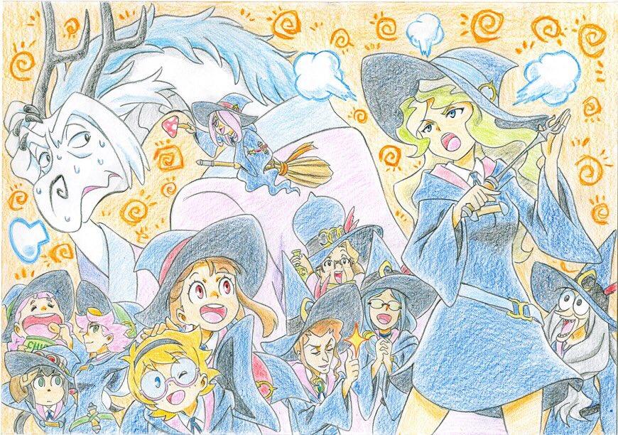 そしてTVアニメ『リトルウィッチアカデミア』各話イラストを公開!!第5話は「和田佳純」さんに描いて頂きました!!第5話の