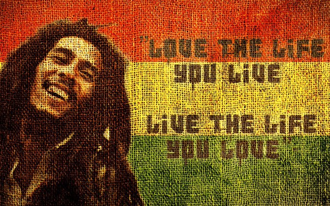 Happy Birthday, Bob Marley RIP