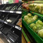 Spanish supermarkets hoard fruit and veg while Brit shoppers are being rationed
