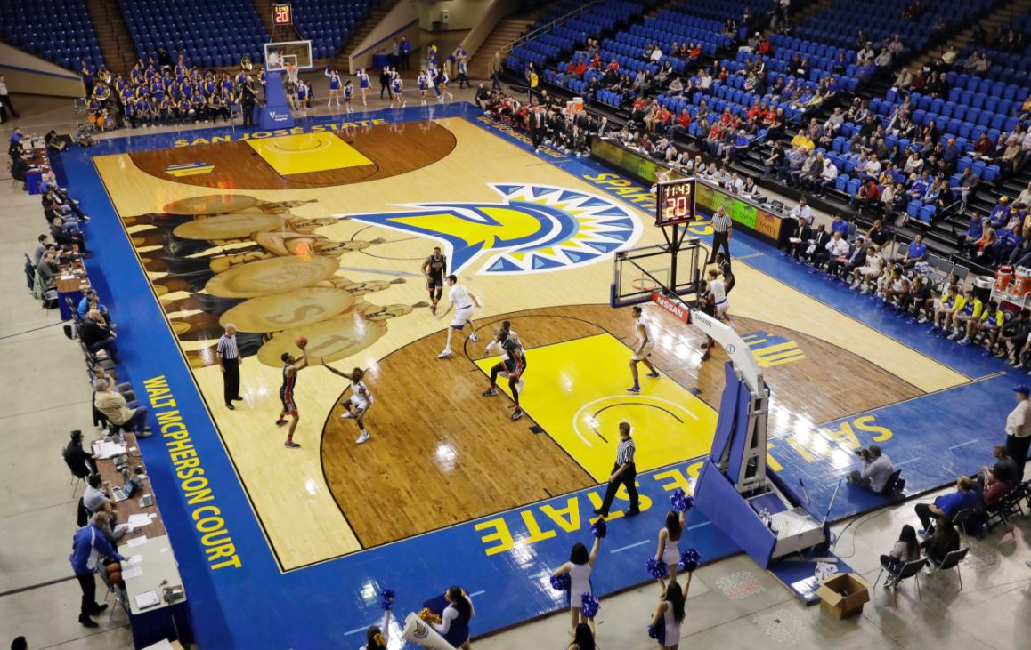 Courting a new look in basketball floor design