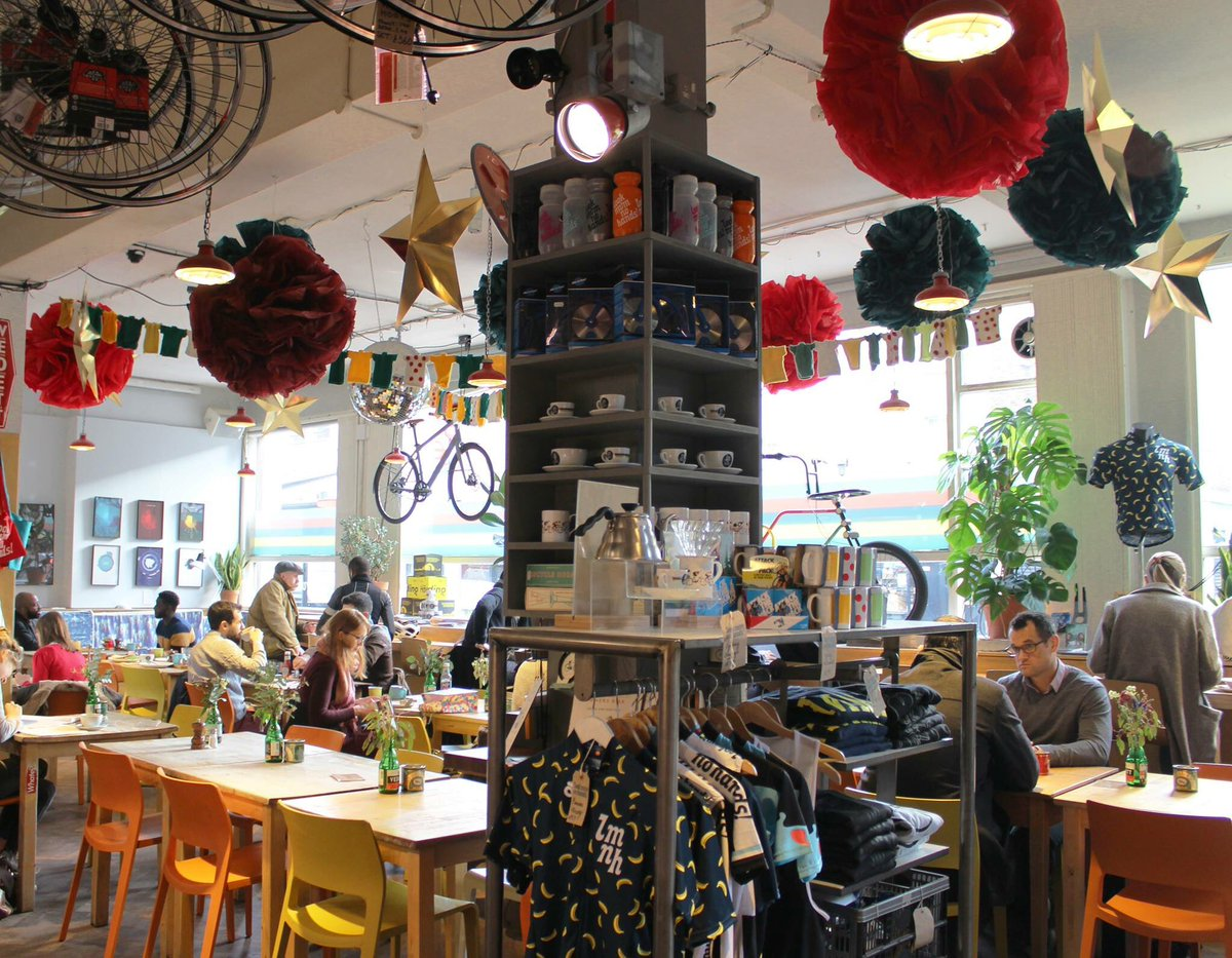 Look Mum No Hands! London's most unusual cafes