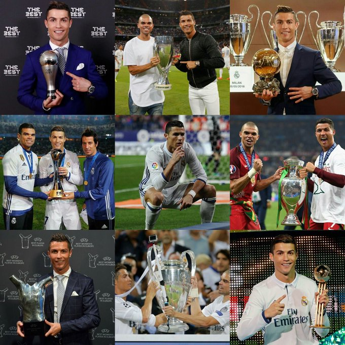 Happy 32nd Birthday To Cristiano Ronaldo