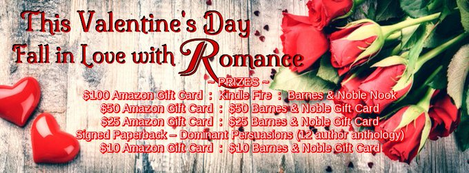 Fall In Love with #Romance #Giveaway #mgtab Win G/C #Kindle and more!