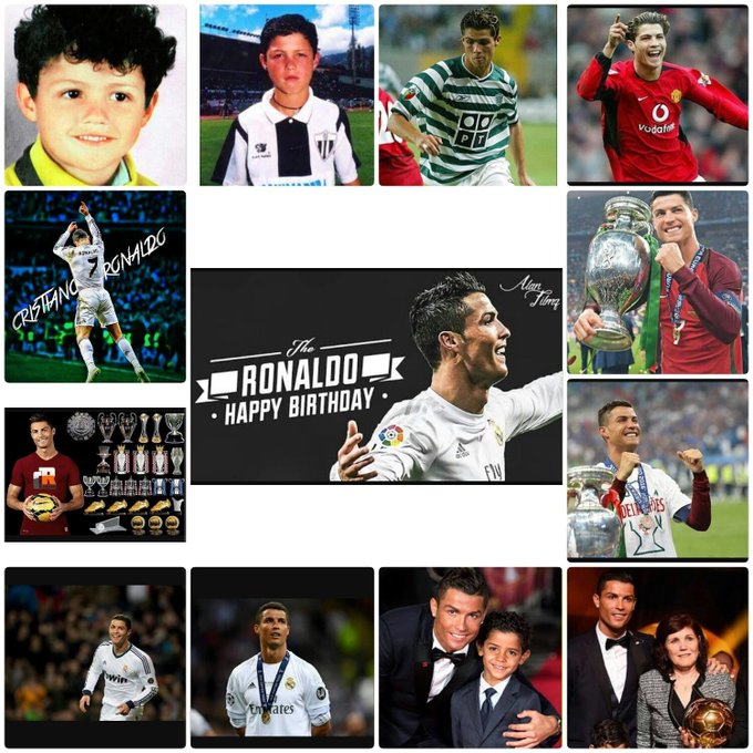 Great Cristiano Ronaldo Happy Birthday  . You\re amazing in the field.