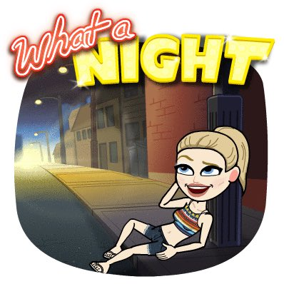 I know this is immature, but sometimes, I like seeing JUST how whorish I can make my lil' bitmoji...