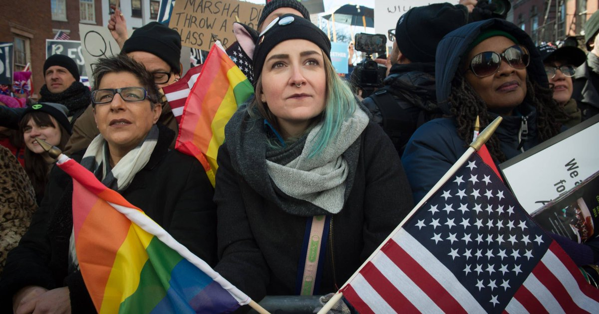 Protests erupt globally over Trump actions for third Saturday in a row