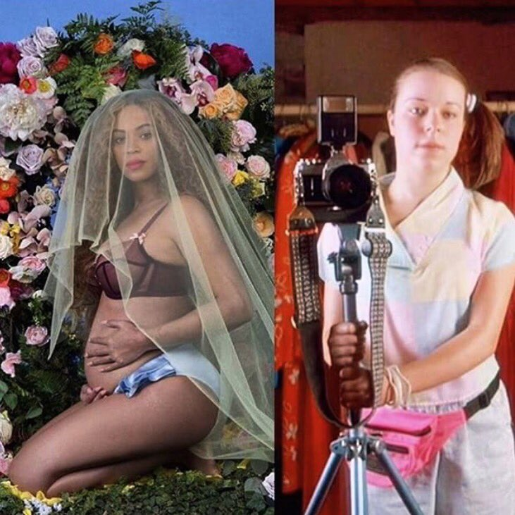 NOW this Beyoncé photo shoot makes sense! https://t.co/VB2SsYBXoX