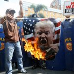 Trump's immigration policy sparks protests in the Philippines, Indonesia