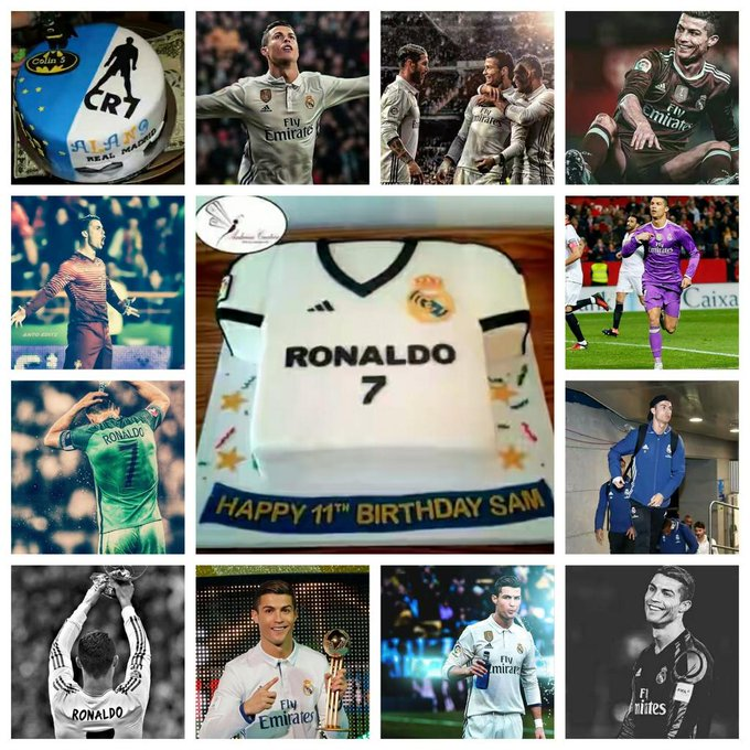 He is never give up He is the best in the world He is my hero He is CRISTIANO RONALDO  Happy birthday CR7