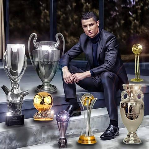 Happy birthday Ronaldo my idol .