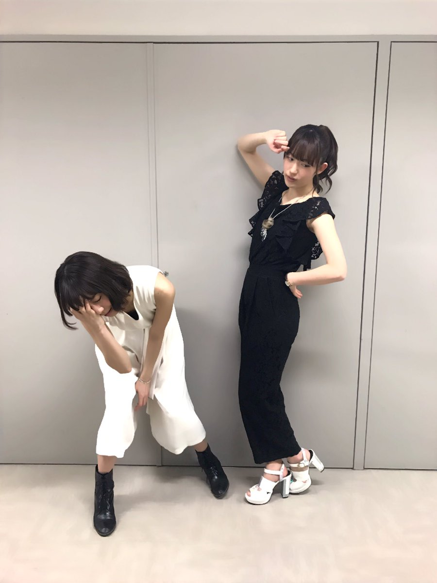 本日は、TVアニメ「タブー・タトゥー」のイベントです!このイベントで初披露となるイジー役の小松未可子さんとのユニットTR