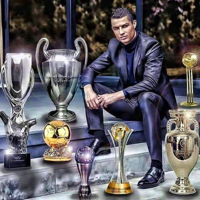 Happy birthday Cristiano Ronaldo,the king of football ..