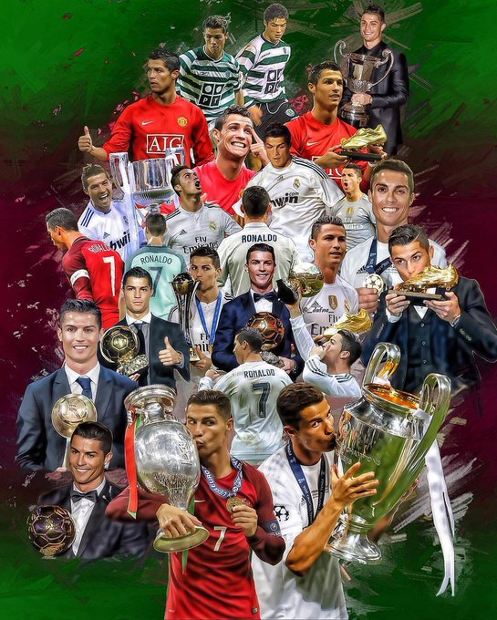 Happy birthday Cristiano Ronaldo you are the best in the world
