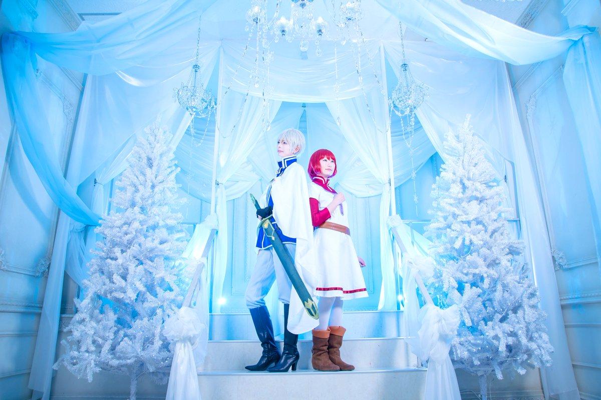 コス/赤髪の白雪姫ゼンの味方になる為に 始まった道だから白雪:りんずちゃん ゼン:未緒PHOTO:雪那 #ハコアム東京コ