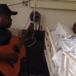 Burundian artist Kidum honors ailing Big Kev's request to sing for him at his hospital bed before undergoing his seventeenth surgery