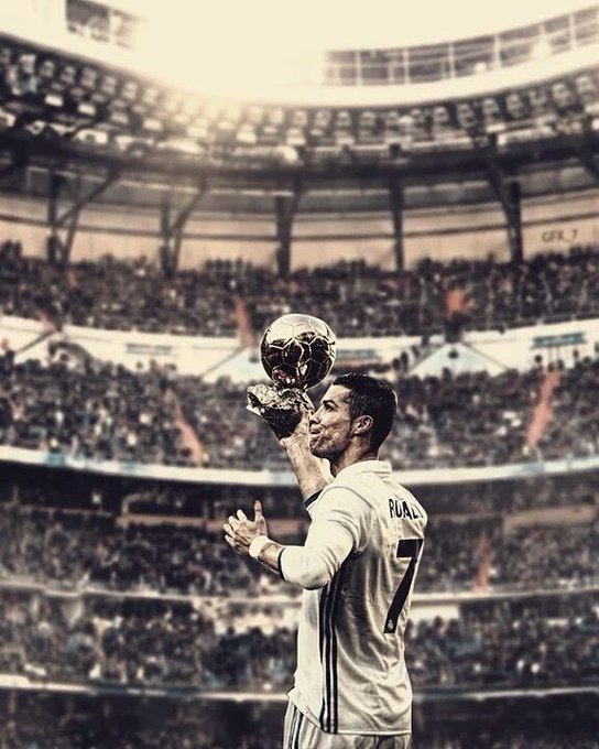 Happy 32nd Birthday to Cristiano Ronaldo!! His hardwork & career is some unreal inspiration!!