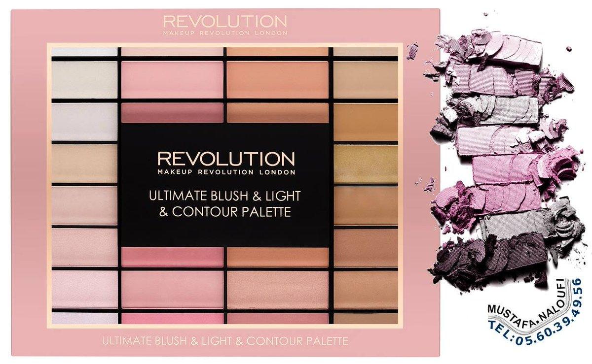 #Makeup_Revolution Ultimate Blush, Light and Contour Palette PRIX: 7200 DA PRIX: 37,89 € PRIX: 32,72 £ POR: 0560394956 https://t.co/WhlT93NVEi