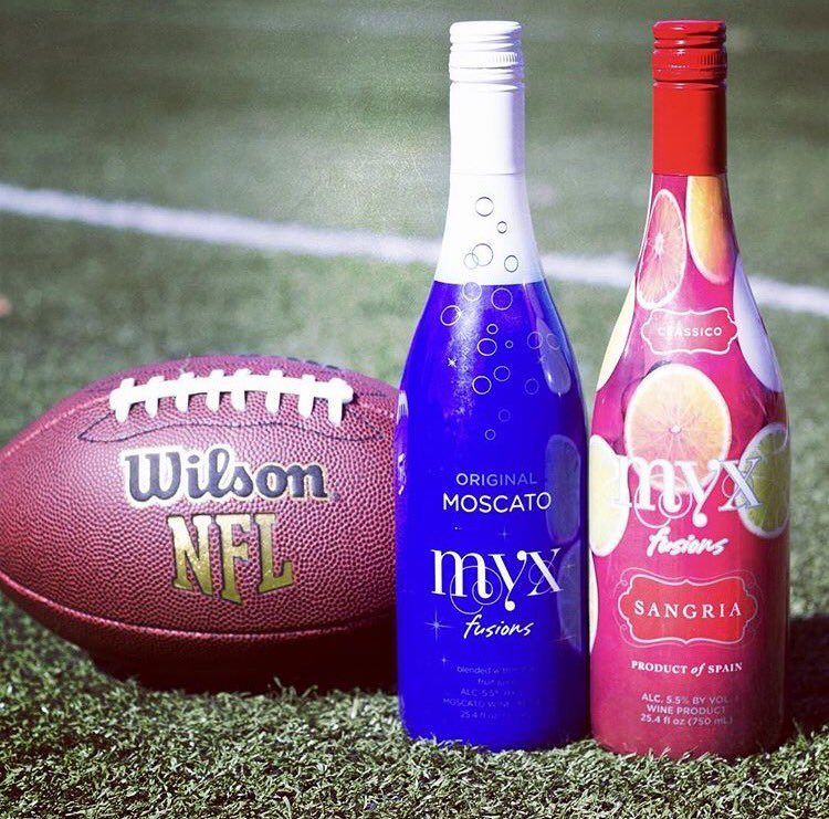 #GameDay ???? #MyxFusions drink⬆️ https://t.co/oW9cUWSNBU