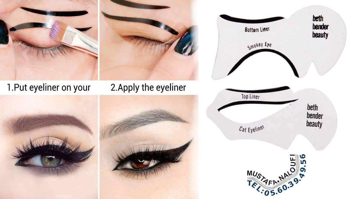 Pochoirs #Eyeliner Pour Perfect Eyes Cat eyeliner et Smokey Outil de maquillage PRIX: 300 DA PRIX: 1,57 € PRIX: 1,36 £ POR: 0560394956 https://t.co/xZ83HlGRZ3