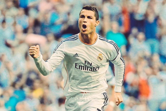 Happy birthday to the best footballer in the world.  Have a good one, Ronaldo.
