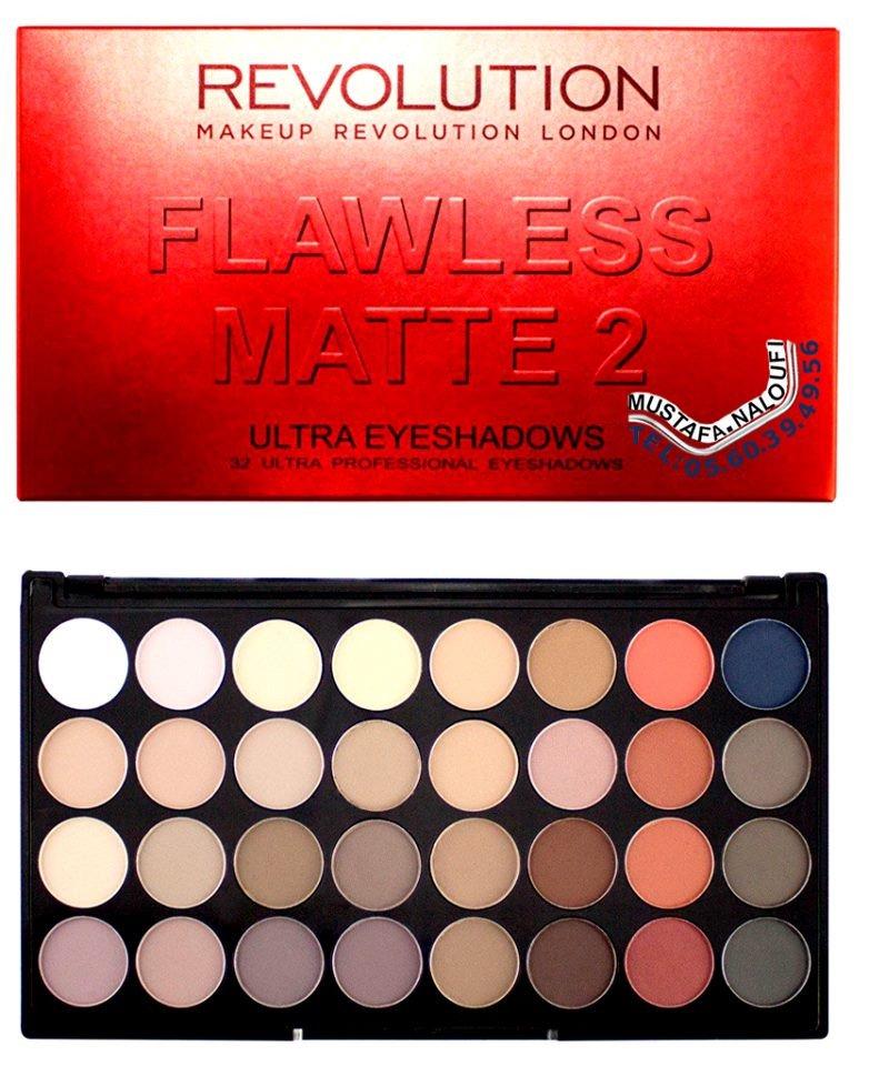 Makeup #Revolution - Eyeshadow pallete - Flawless Matte 2 PRIX: 4700 DA PRIX: 24 € PRIX: 21 £ POR: 0560394956 https://t.co/lBucfivDqt