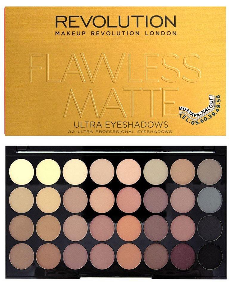 Makeup #Revolution - Eyeshadow pallete - Flawless Matte PRIX: 4700 DA PRIX: 24 € PRIX: 21 £ POR: 0560394956 https://t.co/e6uAT1icbT