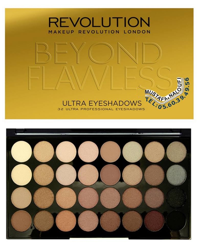 Makeup #Revolution - Eyeshadow Palette BEYOND FLAWLESS PRIX: 4400 DA PRIX: 23 € PRIX: 20 £ POR: 0560394956 https://t.co/wxO24XXiQu