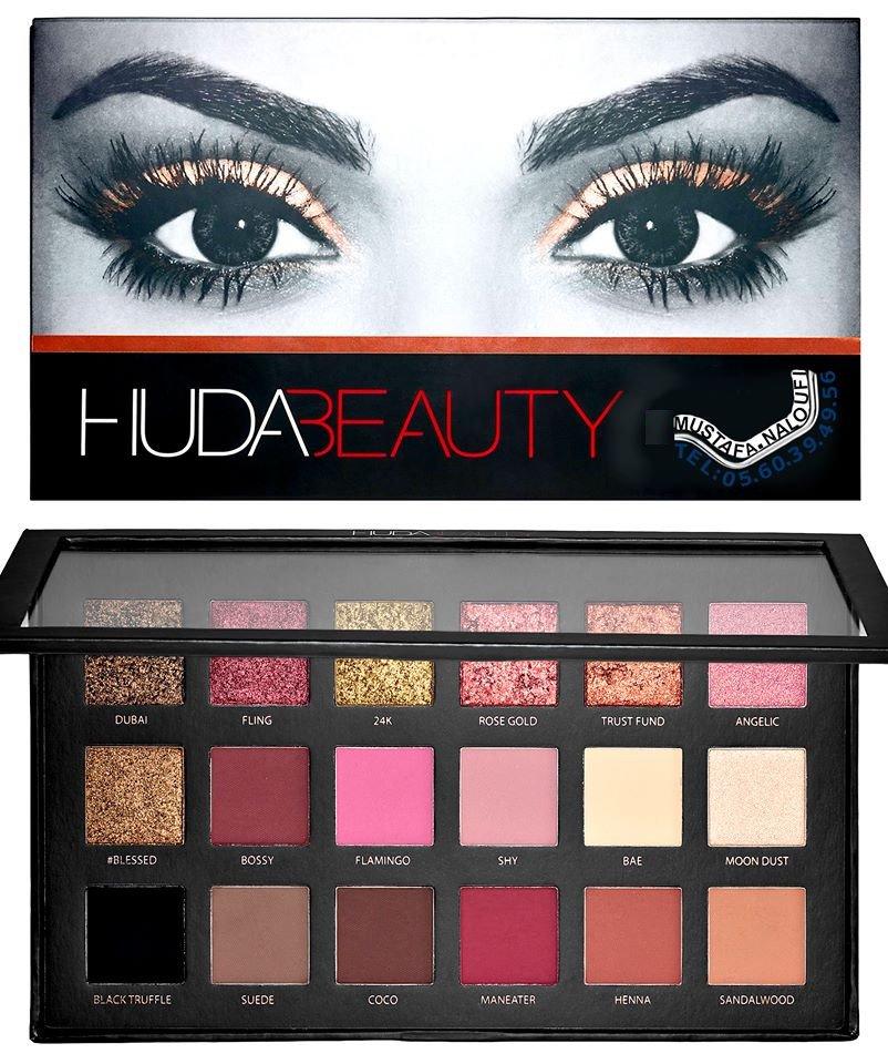 #Huda Beauty Eyeshadow Palette - Rose Gold Edition PRIX: 6800 DA PRIX: 35 € PRIX: 30 £ POR: 0560394956 https://t.co/f2OsdeZodI