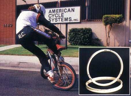 Just found this picture of #acsbmx #z-rims. I had purple ones, and they really did this! They would pop right back into place, too https://t.co/IydDuyYo2V