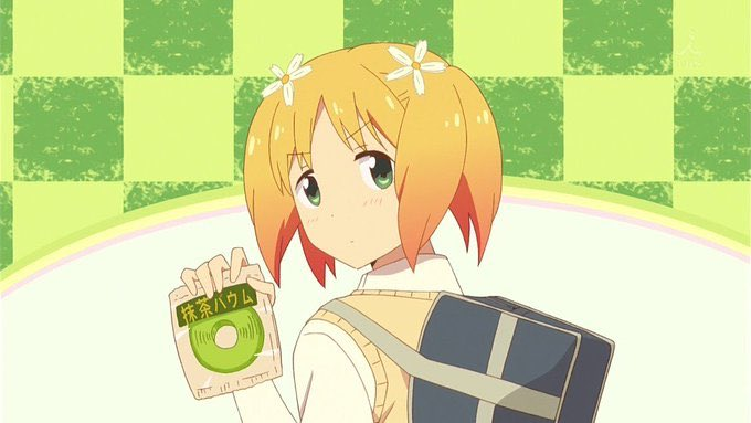 抹茶といえば桜Trickですね! #抹茶の日