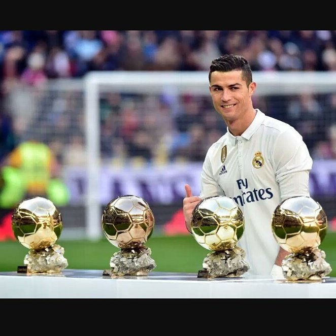 Happy Birthday to the best player in the world Cristiano Ronaldo.