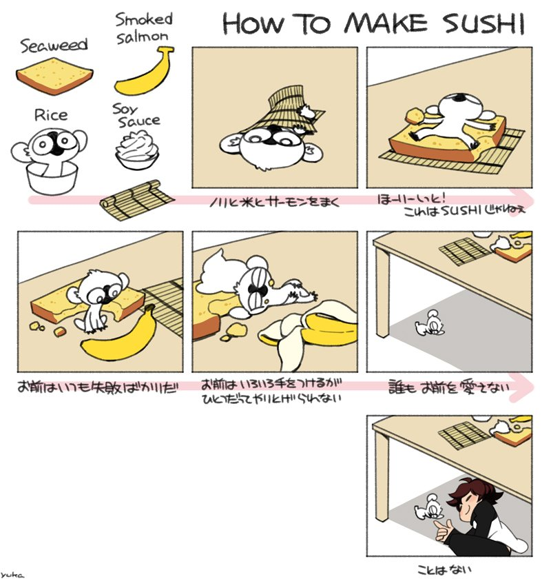 きっと何番煎じか目の How to make Sushi パロ。いろいろ変更したら意味不明になってしまったw#血界戦線