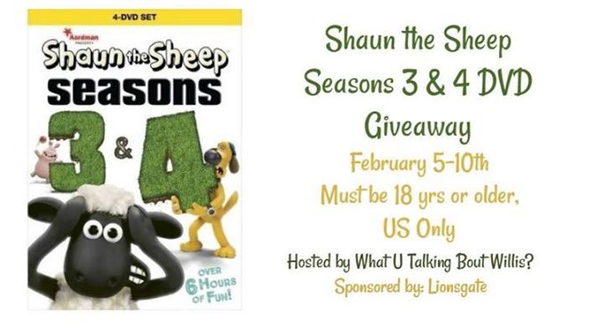 Shaun the Sheep #Giveaway