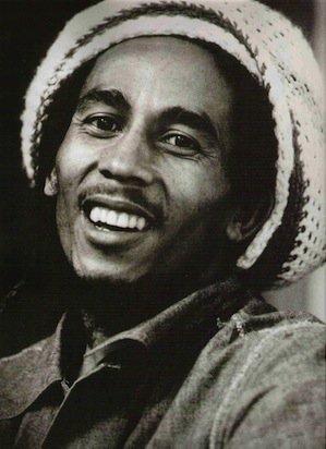 "Happy Birthday to the immortal Bob Marley, born Feb 6! \""One Love\"""