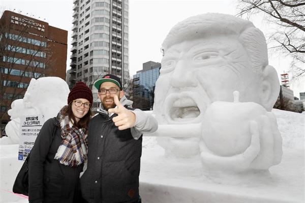 「さっぽろ雪まつり」開幕 ピコ太郎やスターウォーズの雪像も! 観客200万人超見込む sankei.com/life/news/1702\u2026
