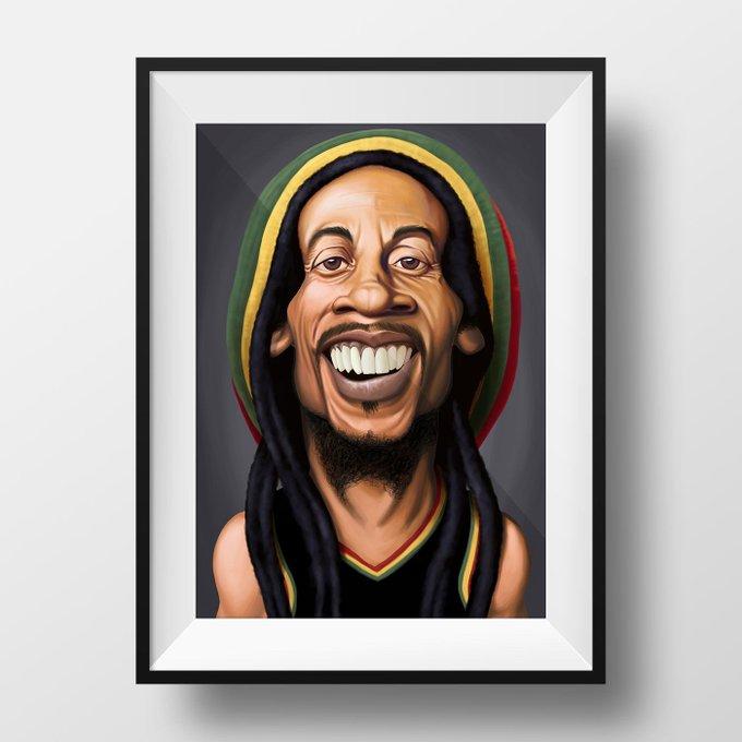 Happy Birthday, Bob Marley!  copyright © Rob Snow   creative