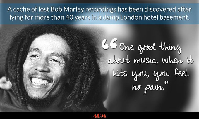 Wishing Bob Marley A Happy Birthday!