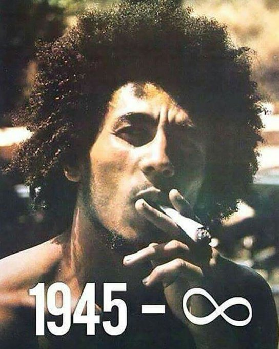 Happy birthday Bob Marley