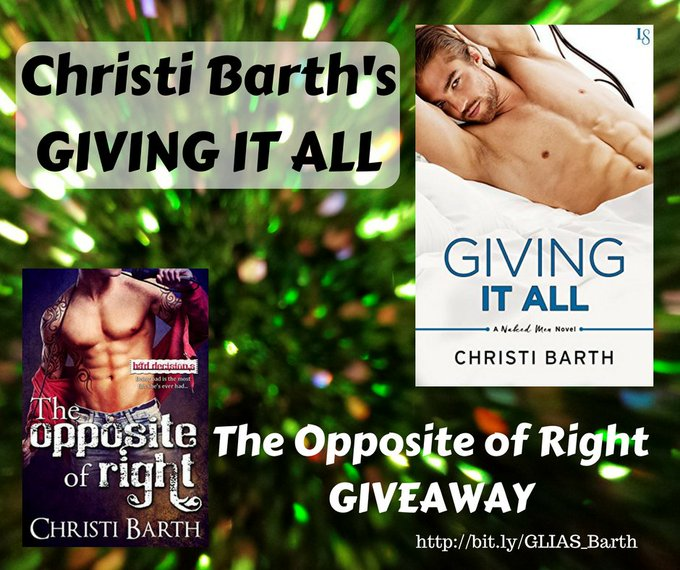 Christi Barth Gives it her All