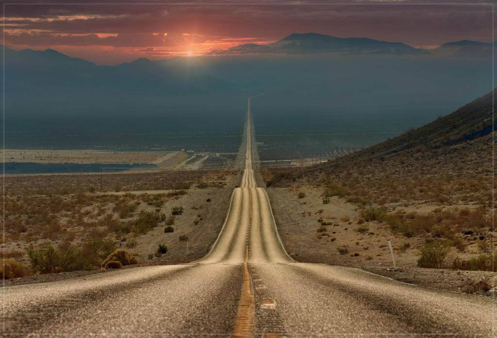 Lonely Road, Death Valley, California | Photography by ©Ghenadie Shanov https://t.co/ZMubF9WcVY